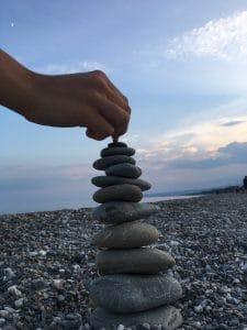 Stone balacing, Equilibrio Interiore